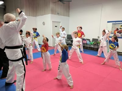 Taekwondo Classes for Children Teaches Leadership