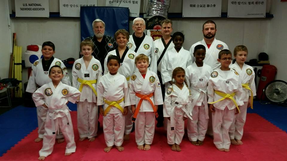 Taekwondo Classes for Kids